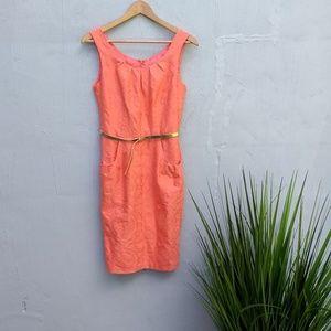 Dress Barn coral dress